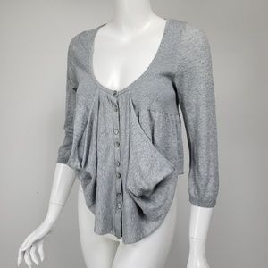 Knitted & Knotted Anthropologie Draped Cardigan
